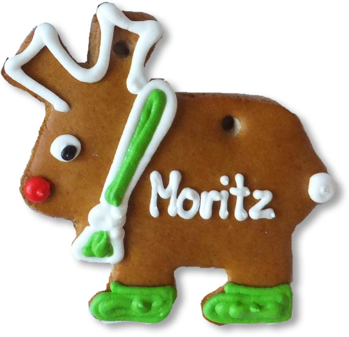 Lebkuchen Moose 12cm Placement Card