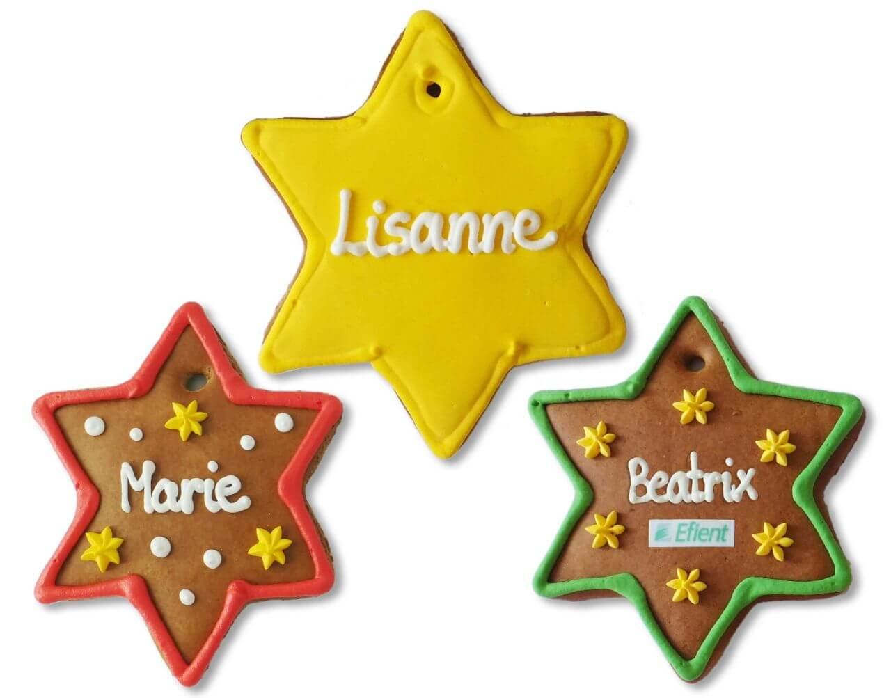 Lebkuchen Star 12cm, Placement Card