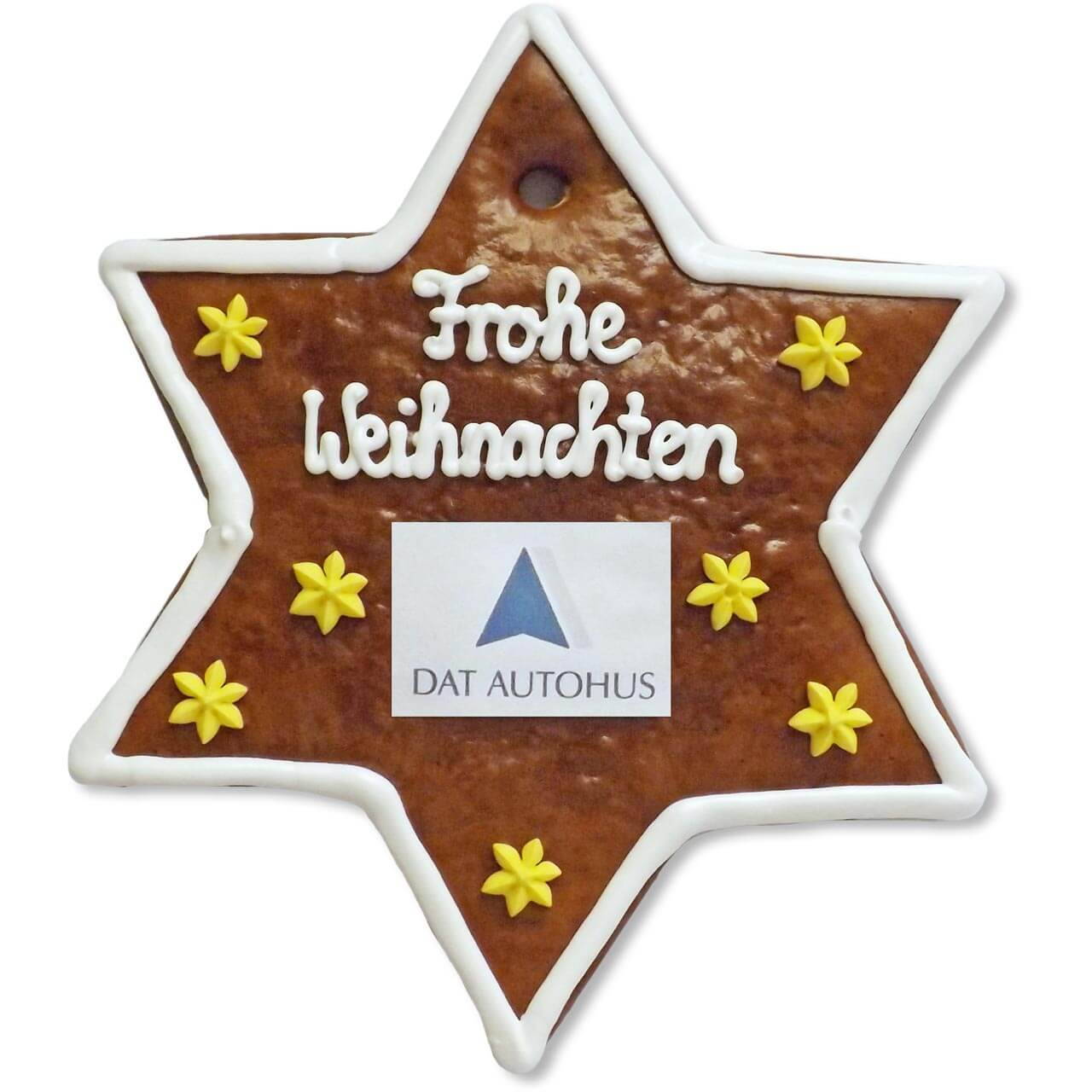 Customized Lebkuchen - Star, 20cm