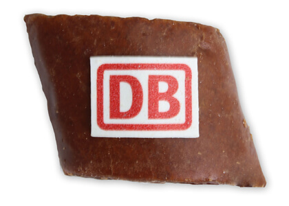 German Magenbrot Cookie with logo