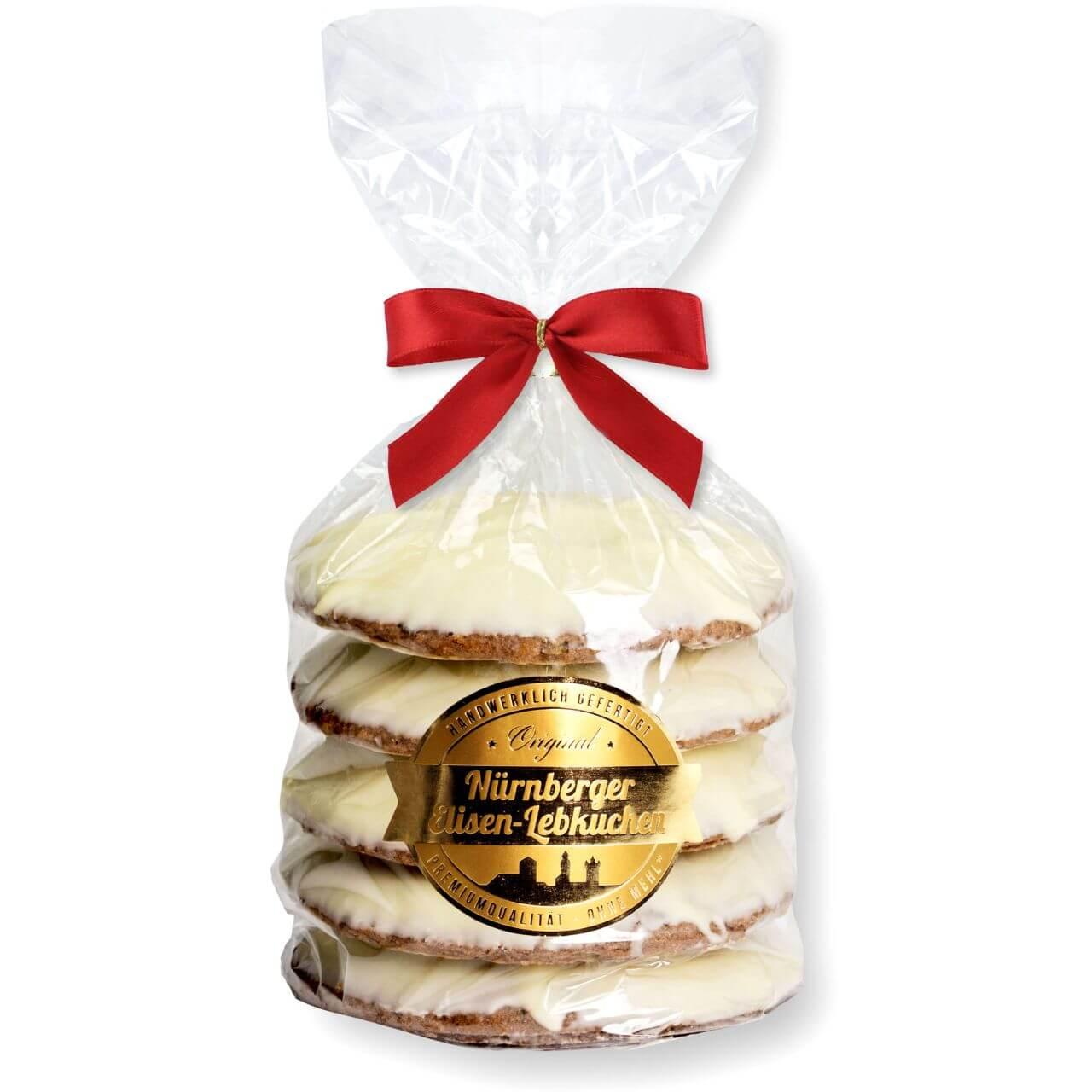Nuremberg Elisen Lebkuchen Gingerbread White Chocolate