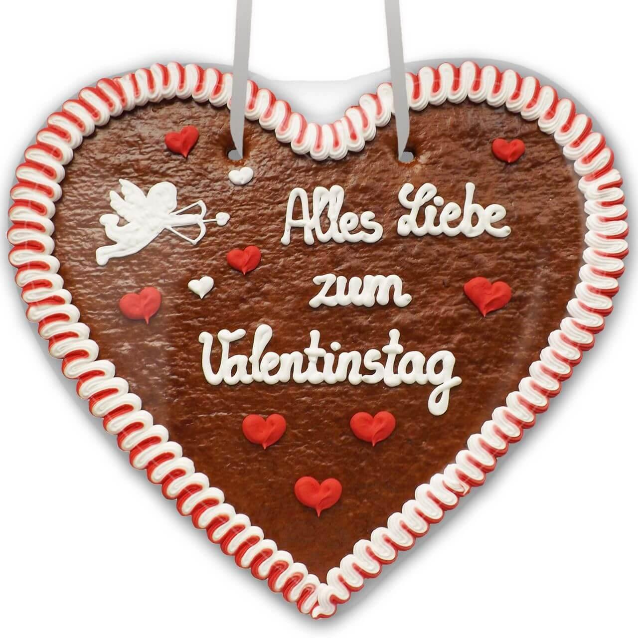 Lebkuchenherz Alles Liebe Zum Valentinstag Xxl Lebkuchenherz