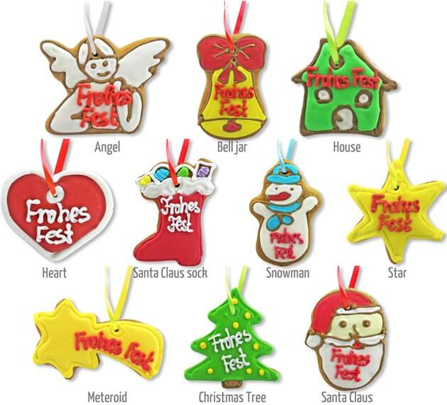 Gingerbread Ornaments for christmas trees