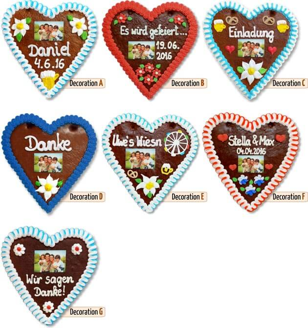 Decorations Gingerbread Hearts Photo