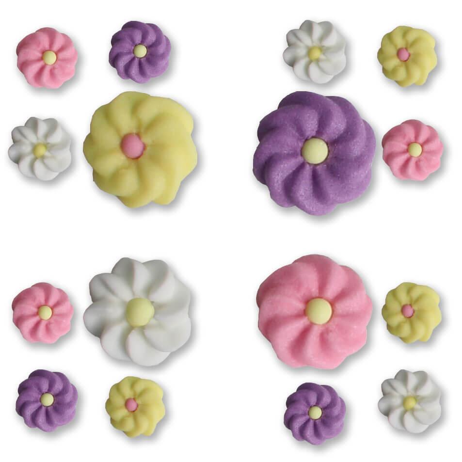 Sugar Decoration - Flowers Mini, 1.000 pieces