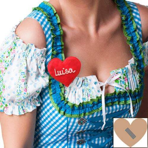 Gingerbread-Heart for Dirndl