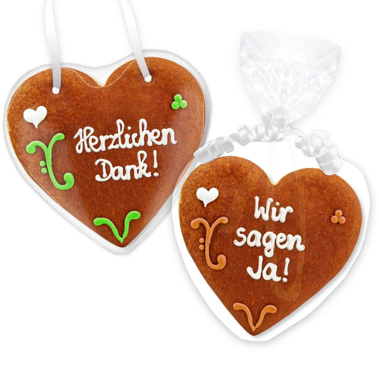 Gingerbread Heart Invitation Julian