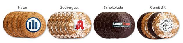 5er Elisen-Lebkuchen Logo und Text