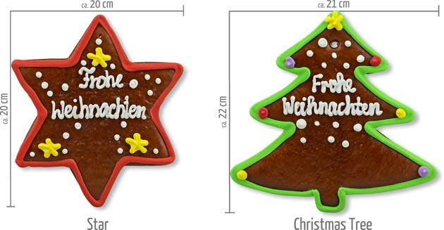 Gingerbread Star or Christmas Tree