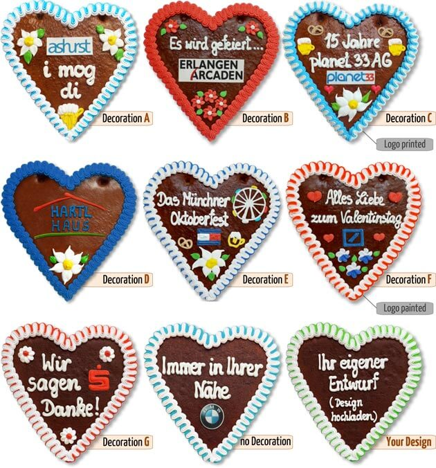 Decoration Gingerbread Heart