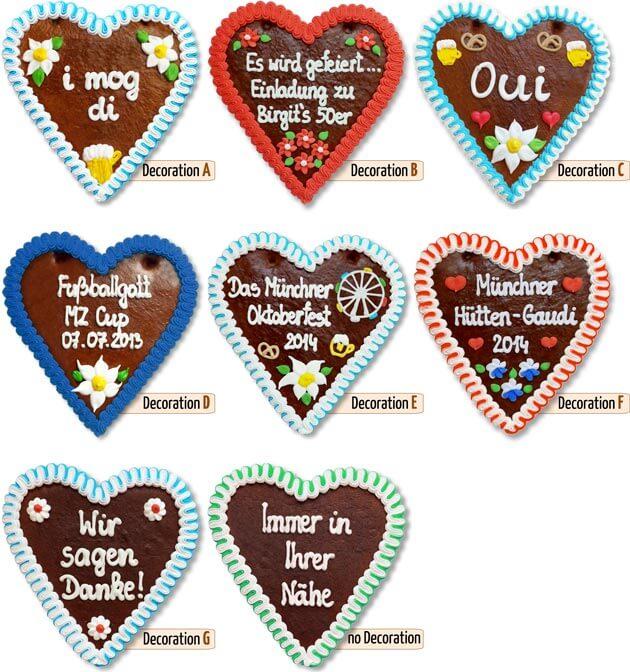 Decoration Gingerbread Heart