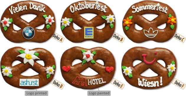 Gingerbread Pretzel Place-Card