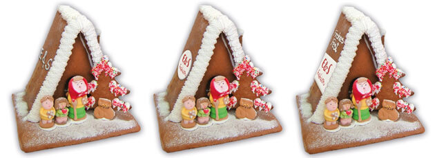 Advertising with the gingerbread - witches house size L