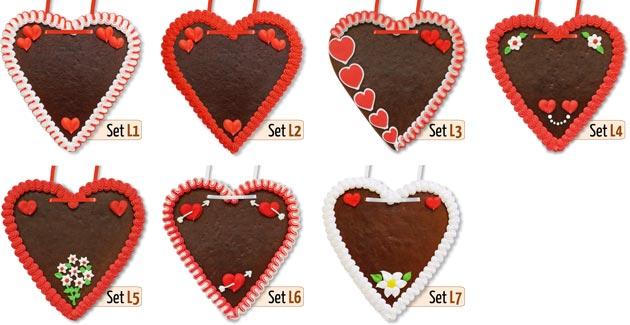 Gingerbread Hearts Love Friendship