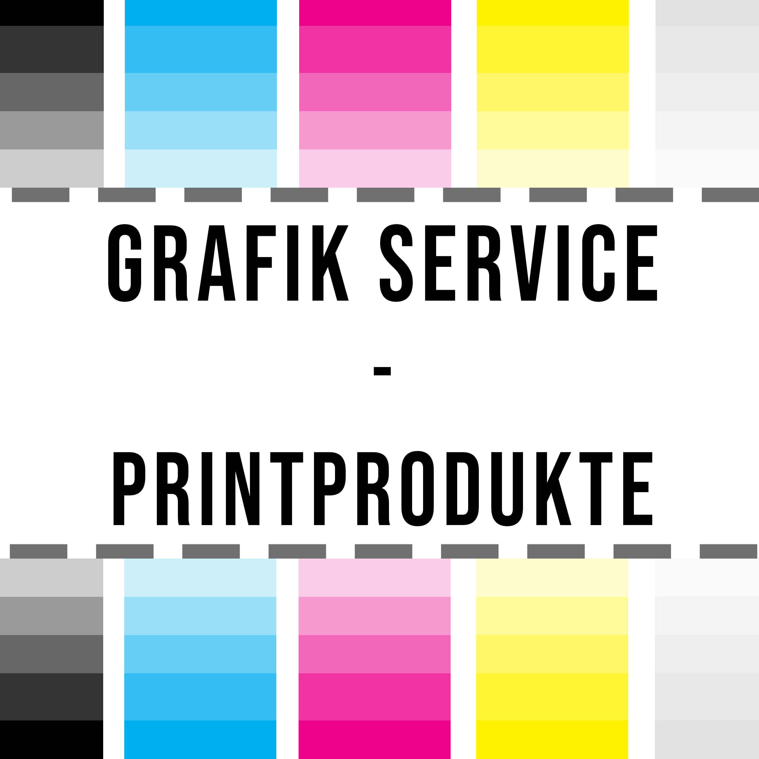Graphic service for print products