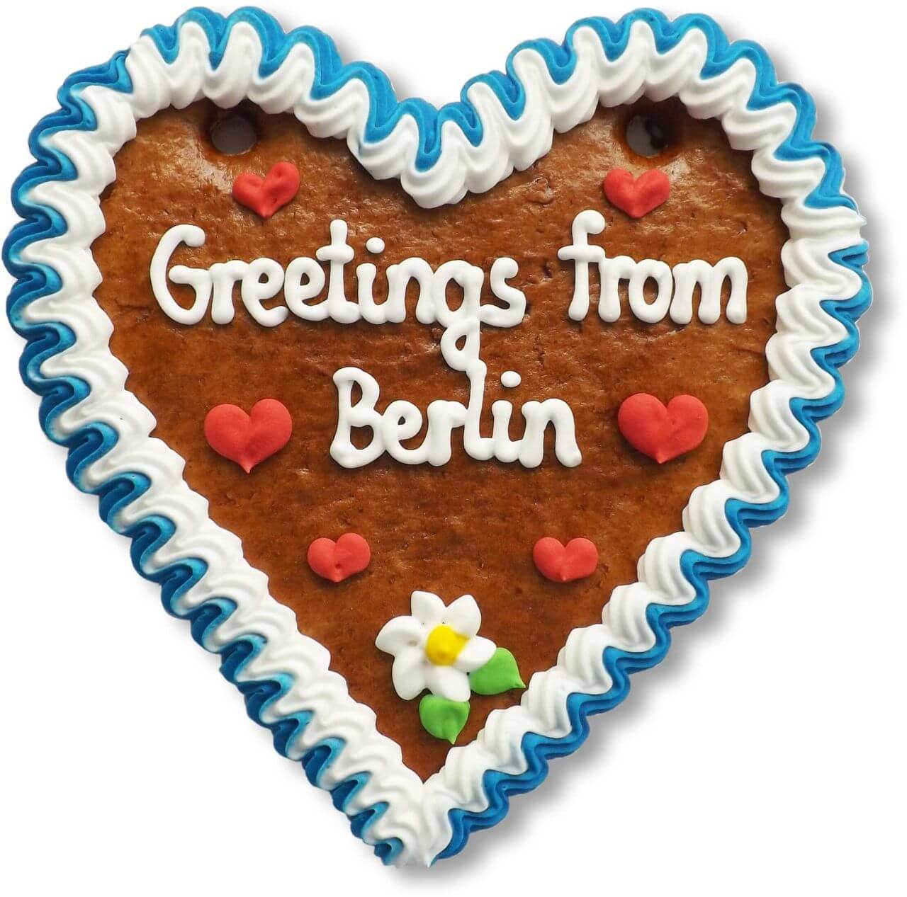 Greetings from Berlin - Lebkuchenherz 16cm