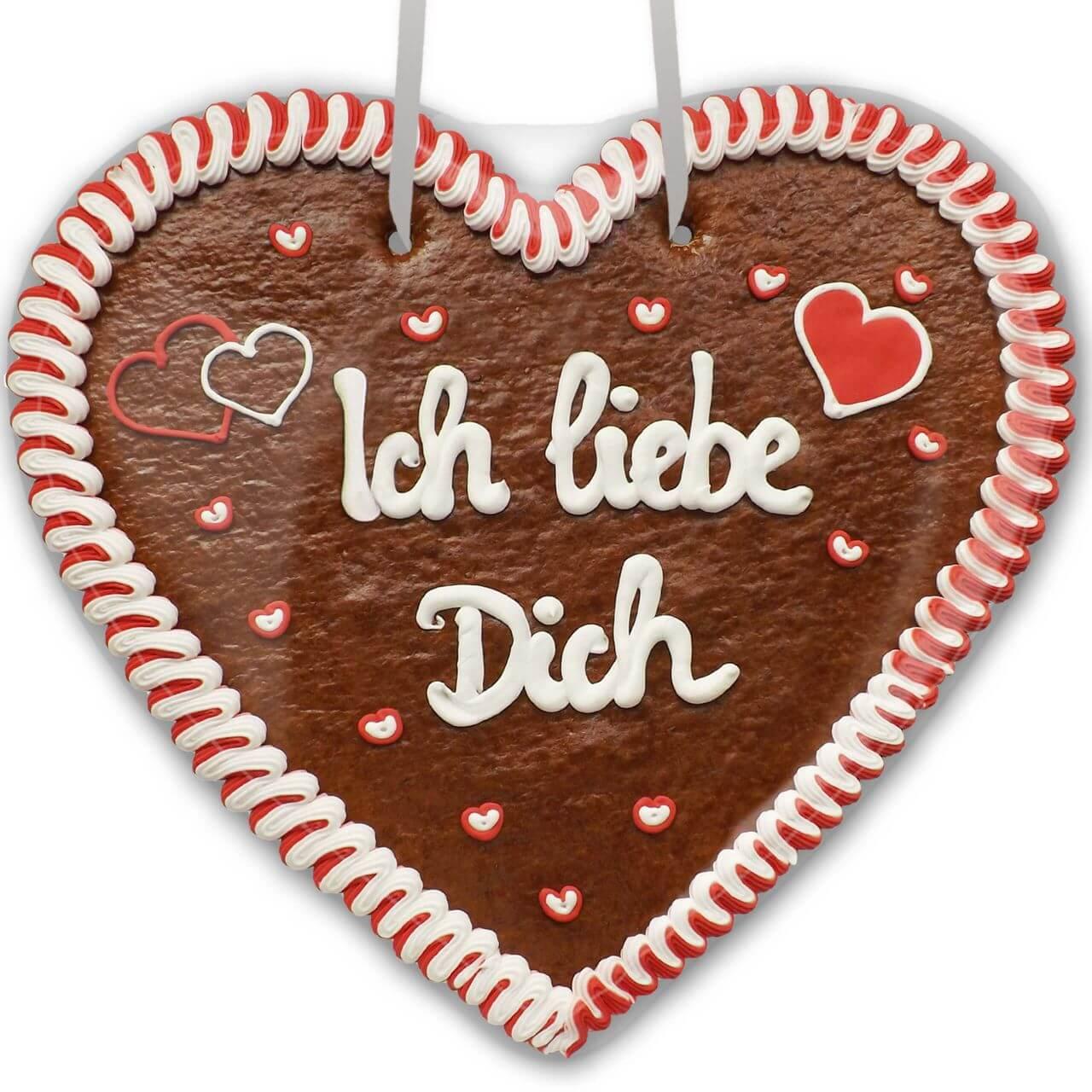 Lebkuchenherz Ich Liebe Dich Xxl Lebkuchenherz Lebkuchen Markt De