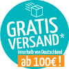 Over 100,00€ free shipping within Germany!