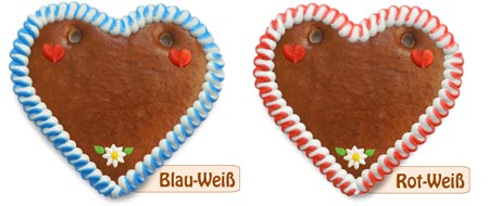 Gingerbread heart blank for self-labeling.  With border and decoration in different designs!