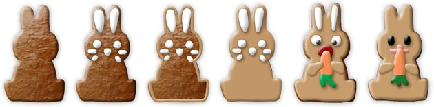 all designs bunny frontal