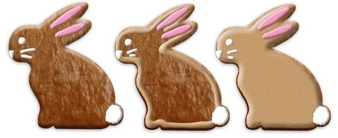 Design Examples easter bunny 12cm