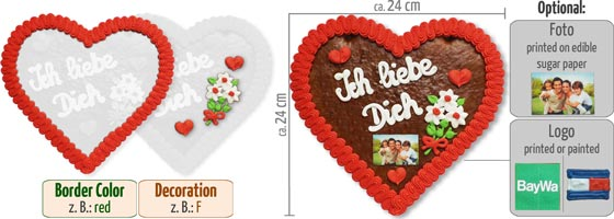 Create Your Gingerbread Heart