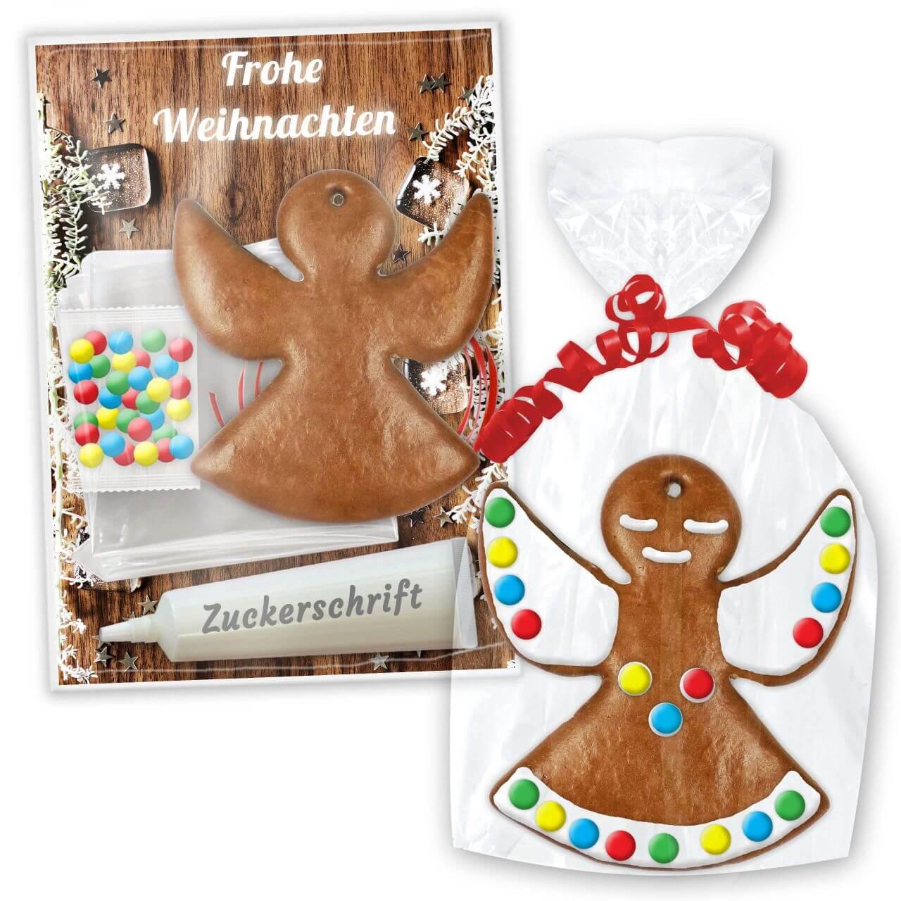 Bastel Set Lebkuchenengel Weihnachts Edition