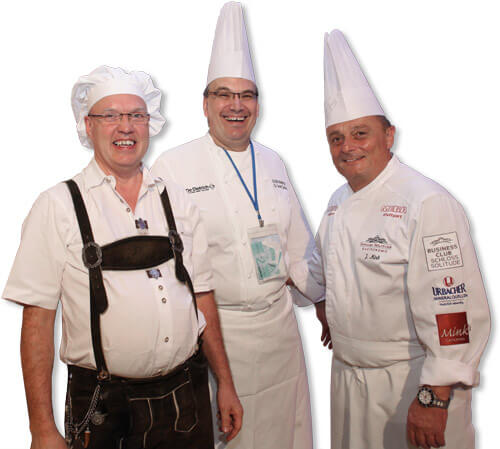 Lebkuchen Produktions-Team