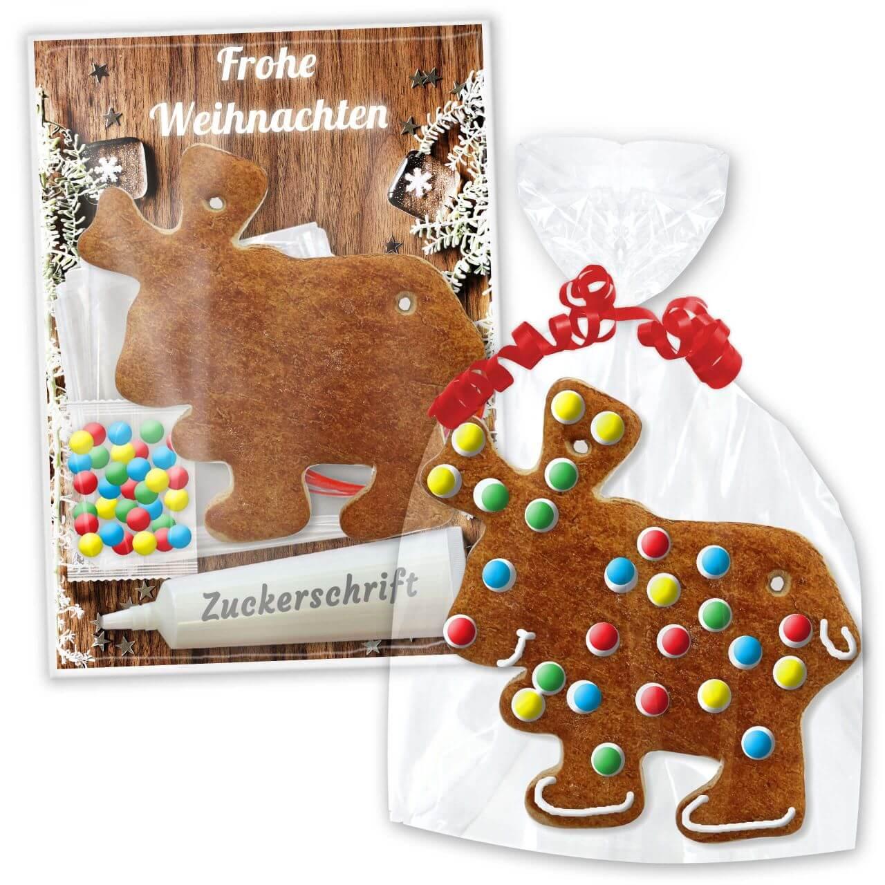 Bastel Set Lebkuchenelch Zum Selber Gestalten Weihnachten Edition