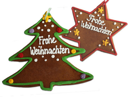 Lebkuchen-Christmas Tree & Star