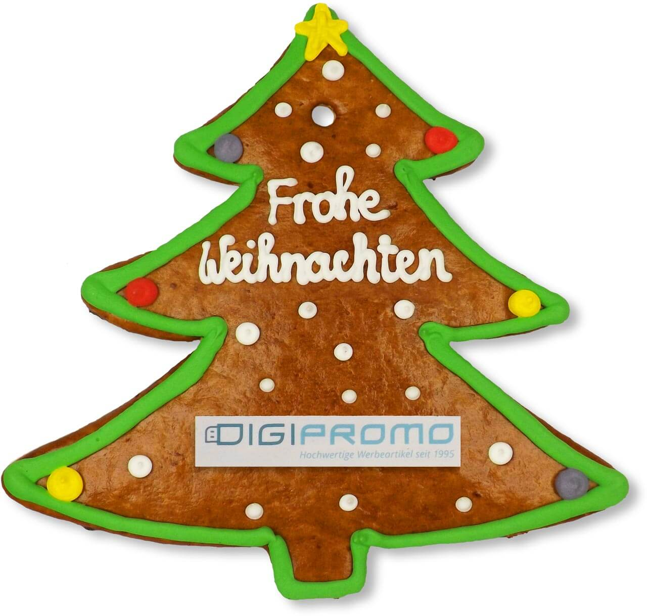 gingerbread christmas tree customizable 22cm - Gingerbread Christmas Tree Decorations