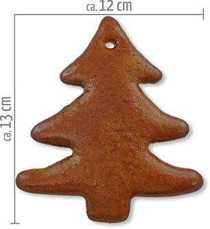Lebkuchen Tannenbaum Rohling