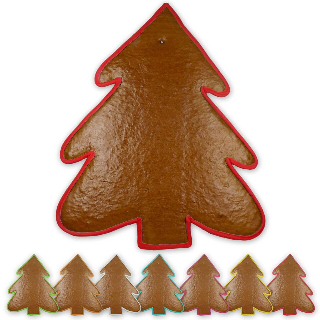 xxl lebkuchen weihnachtsbaum rohling mit rand. Black Bedroom Furniture Sets. Home Design Ideas