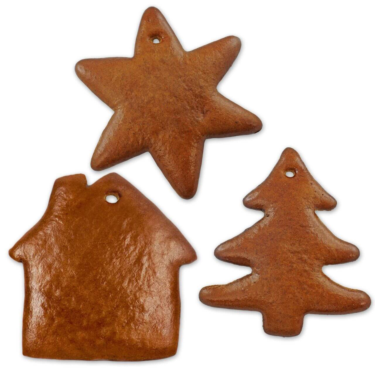 Gingerbred Blank Set Each 5x Star Tree And House