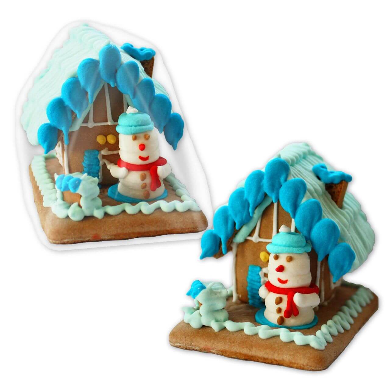 Gingerbread house, Snowman