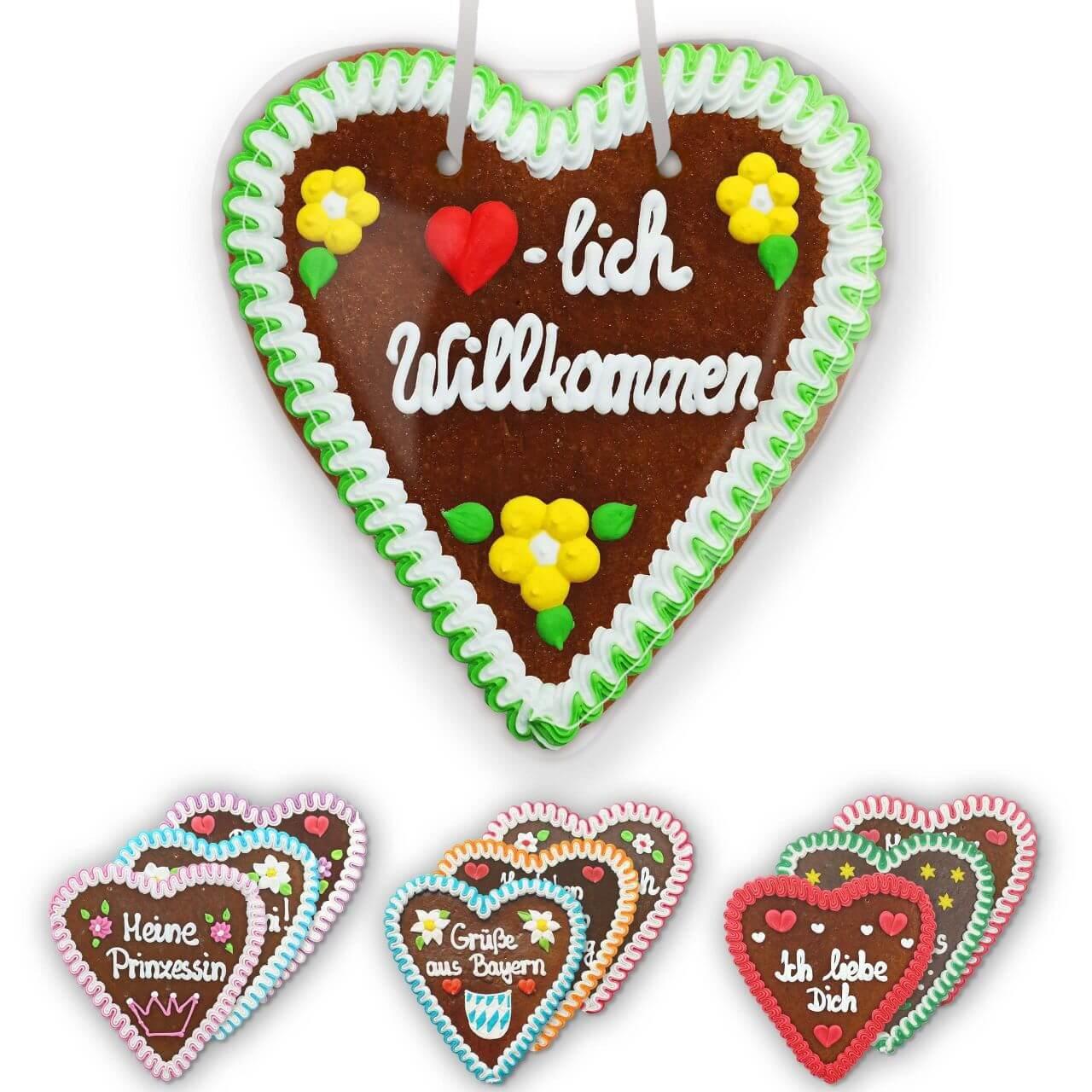 Lebkuchen Hearts Large
