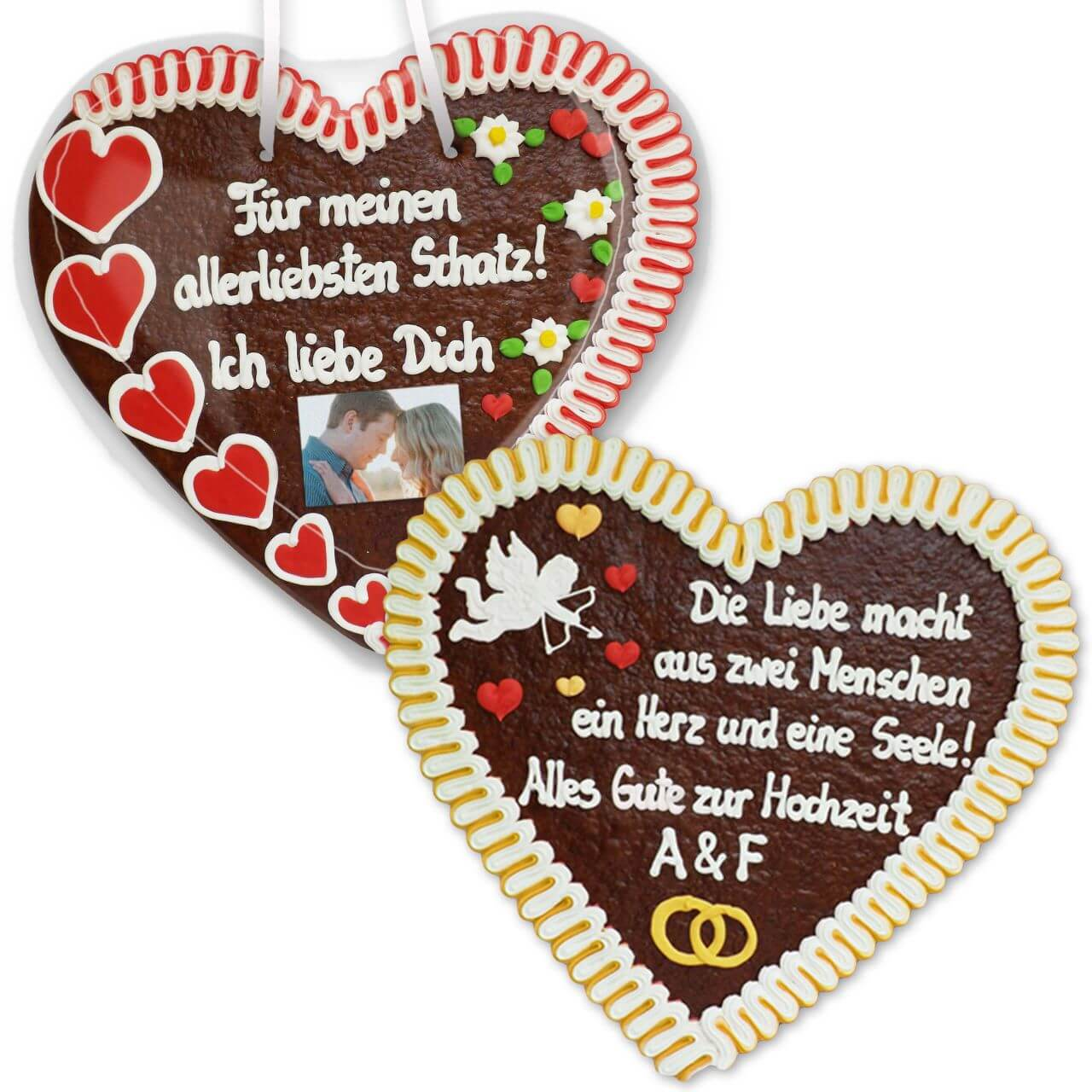 Lebkuchen heart, XXL customized