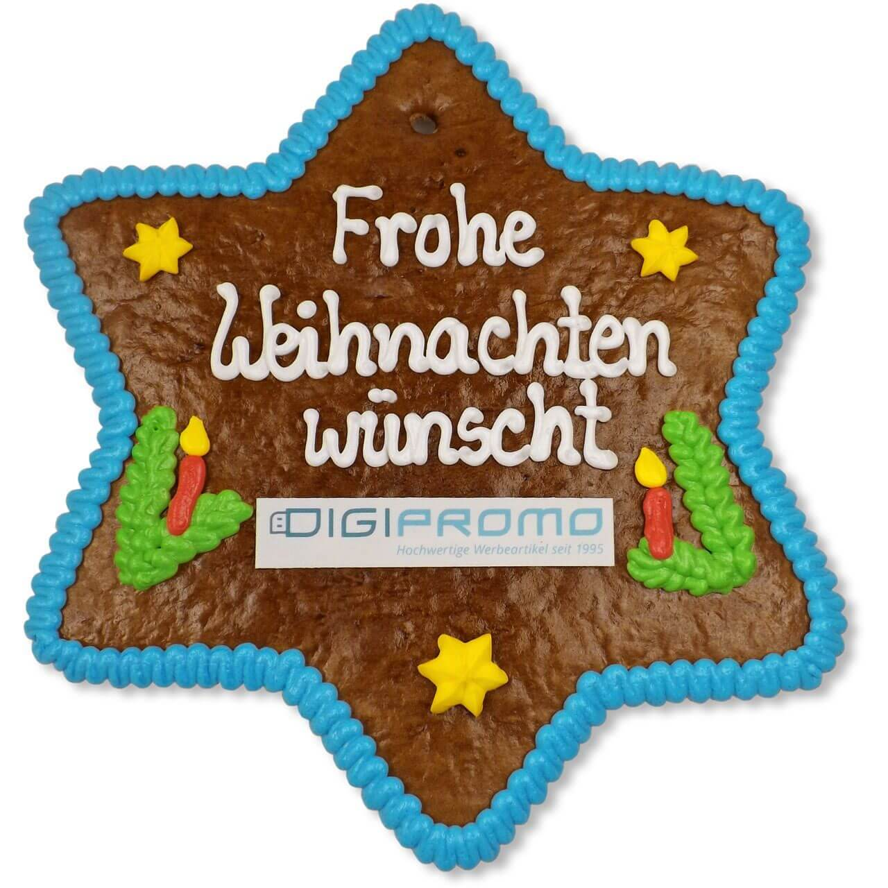 Customized Lebkuchen - Star, 25cm