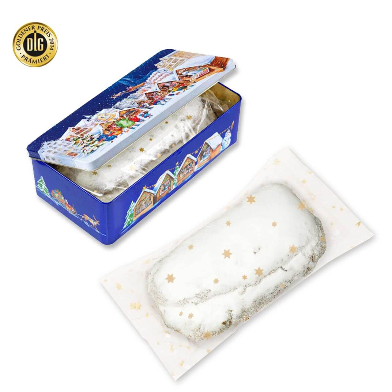 Christmas Stollen Cake Gift Box 200g Different Varieties