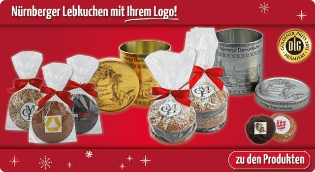 Werbegeschenk Elisen-Lebkuchen mit Logo