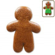 Gingerbread man to do-it-yourself, 12cm blank
