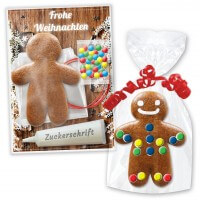 Craft kit Gingerbread man 15cm - Christmas Edition
