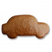 Gingerbread Car old-school blank, 24cm