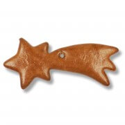 Gingerbread shooting star blank, 12cm