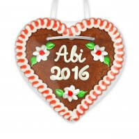 High School graduation 2016 - Gingerbread Heart 12cm