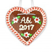 Abi 2017 - Gingerbread Heart 12cm