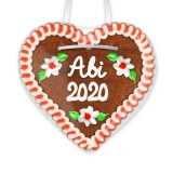 Abi 2020 - Gingerbread Heart 12cm