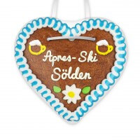 Apres-Ski Sölden - Gingerbread Heart 12cm