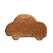 Gingerbread car to label yourself, 18cm