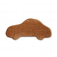 Gingerbread car to decorate yourself, 24cm